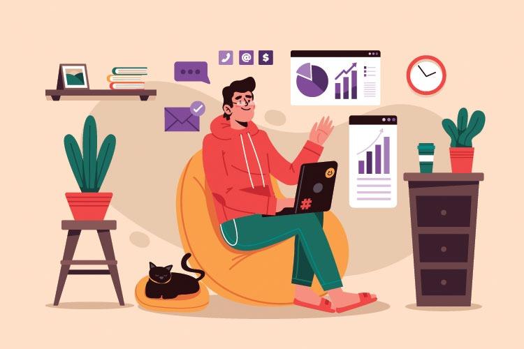 10 شغل واقعی با کار در منزل