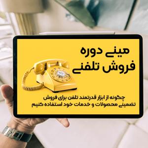 مینی دوره فروش تلفنی