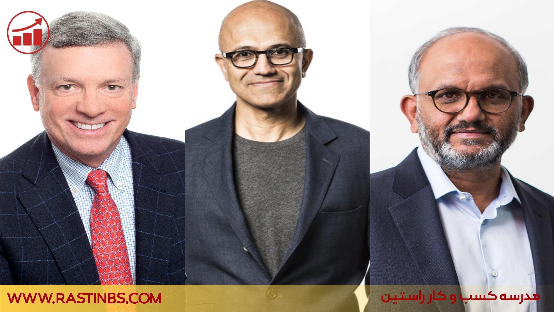 برترین مدیران عامل سال ۲۰۲۱